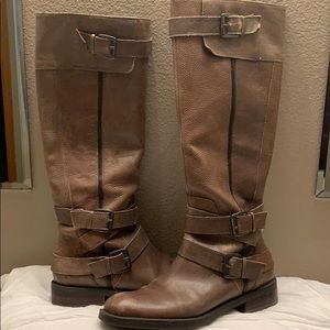 Enzo Angiolini below knee boots